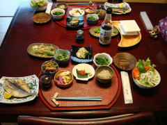 自然食材を使用した料理